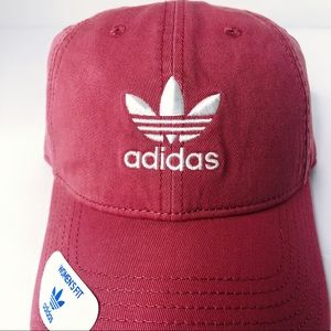 Womens adidas Originals Relaxed Fit Strapback Hat